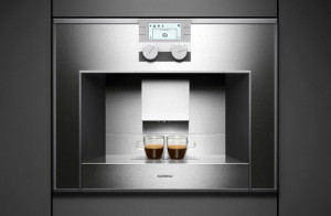 Integrated Coffee Machine built